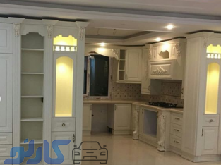 انواع کابینت و طراحی لوکس دکوراسیون، اجرای کابینت های آشپزخانه مدرن و کلاسیک