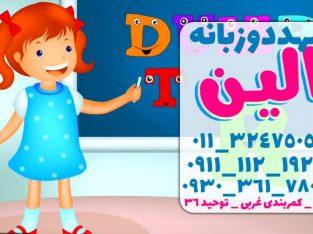 آموزش زبان کودکان زیر 6 سال در بابلسر | مهد کودک دو زبانه الین