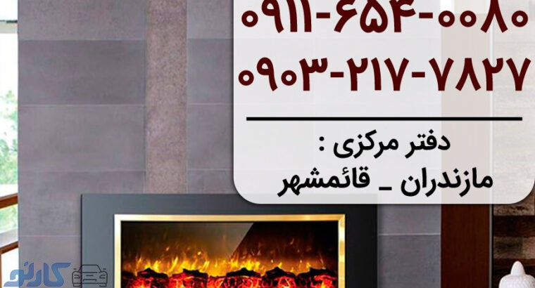 شومینه گازی دیواری توکار ال سی دی مدرن در خوزستان ، ماهشهر و آبادان | لاکچری شومینه
