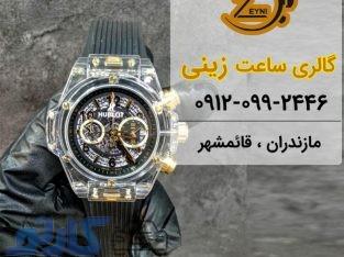قیمت ساعت هابلوت hublot مردانه و زنانه اصل در قائمشهر و ساری،مازندران   گالری ساعت زینی