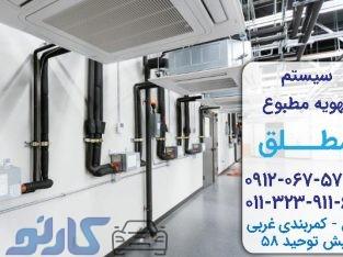 قیمت مناسب سیستم تهویه هوا و داکت اسپلیت در مازندران،بابل و بابلسر |سیستم تهویه مطبوع مطلق
