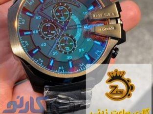 قیمت ساعت دیزل DIESEL مردانه و زنانه اصل در نور و رویان ، مازندران | گالری ساعت زینی