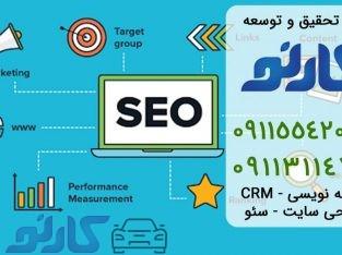سفارش تولید محتوای متنی در قائمشهر و ساری ، مازندران | گروه تحقیق و توسعه کارنو