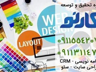 طراحی سایت و سئو در آمل و محمود آباد ، مازندران | گروه تحقیق توسعه کارنو