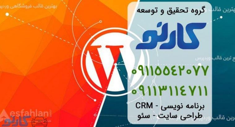طراحی سایت با وردپرس در بهنمیر و جویبار ، مازندران | گروه تحقیق و توسعه کارنو